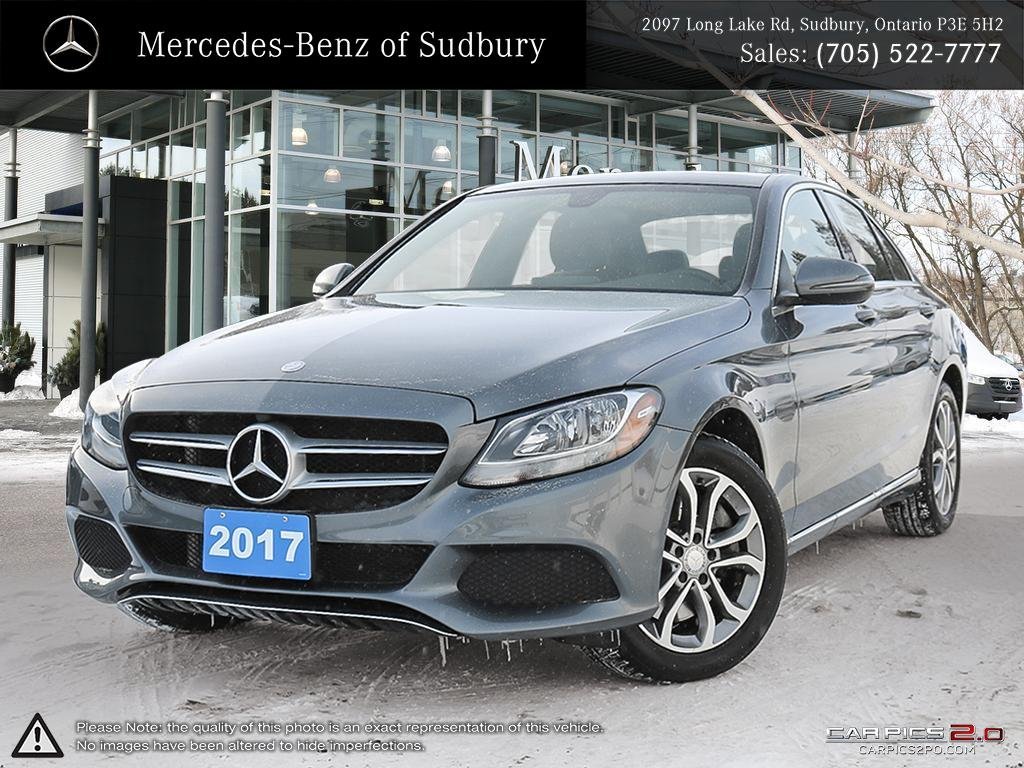 certified pre-owned 2017 mercedes-benz c-class c300 4matic sedan 4dr