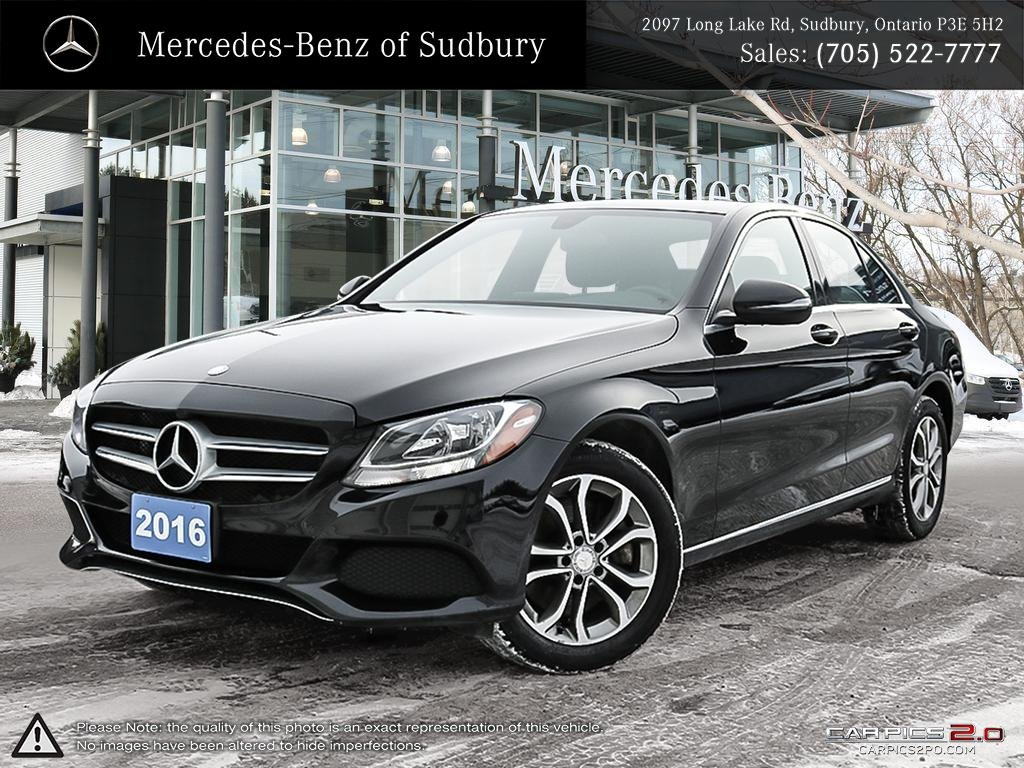 מדהים Certified Pre-Owned 2016 Mercedes-Benz C-Class C300 4MATIC Sedan JA-34