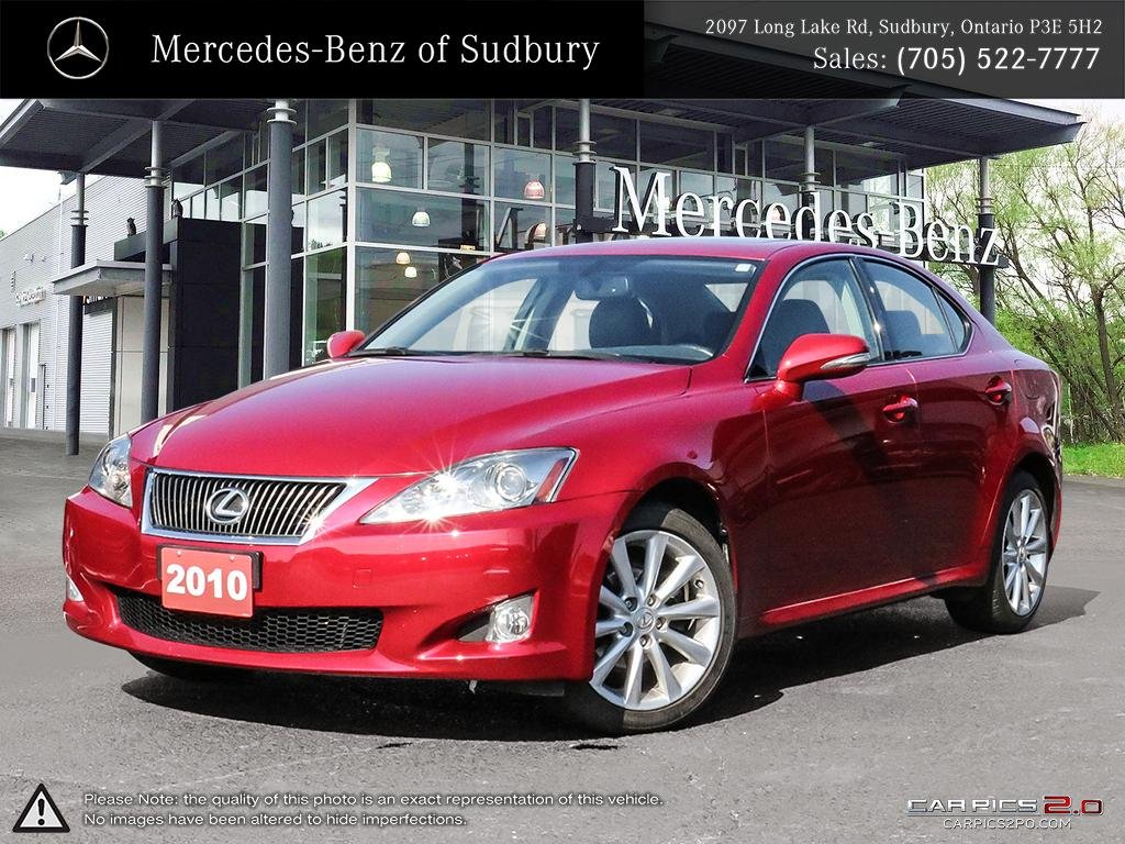 Pre Owned 2010 LEXUS IS 250   LEATHER INTERIOR, PREMIUM SOUND SYSTEM