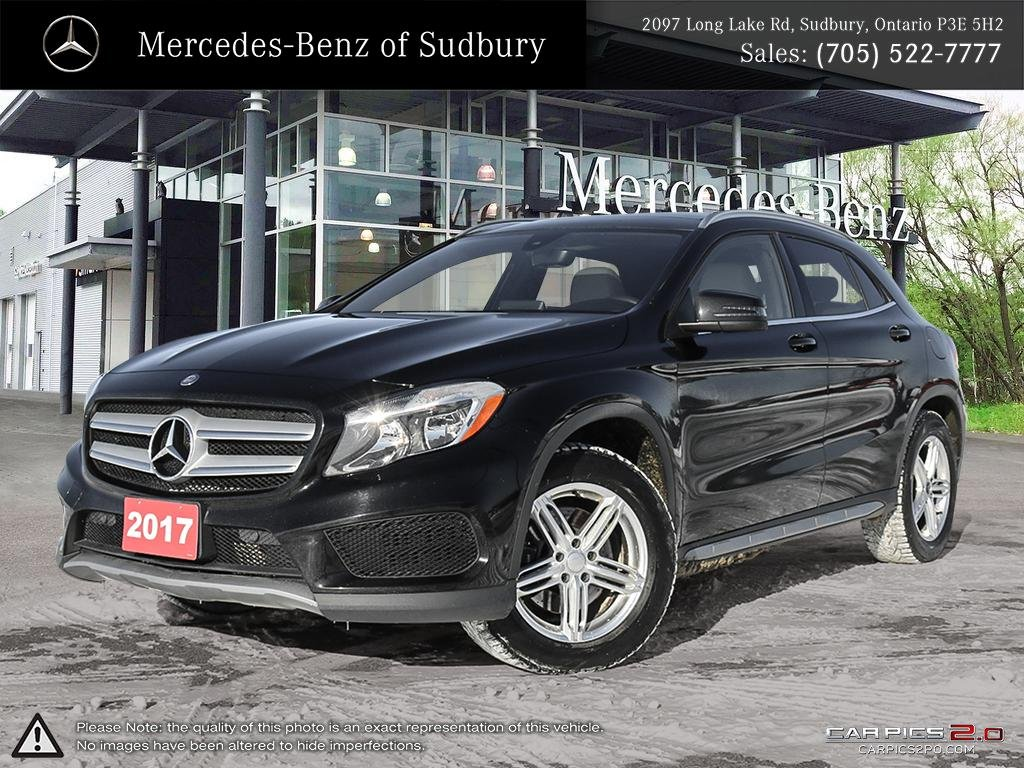 Pre Owned 2017 Mercedes Benz Gla 250 4matic This Compact Luxury Suv Comes With