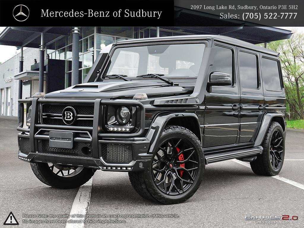 Pre Owned 2017 Mercedes Benz G Cl G63 Brabus Package This Head